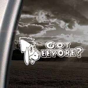 EEYORE Decal DONKEY DISNEY POOH WINNIE Car Sticker