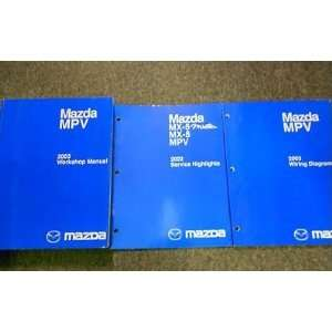 Manual, and the Electrical Wiring Diagram Manual) mazda Books
