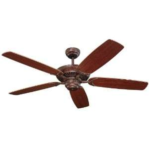 52 Tuscan Bronze Energy Star Ceiling Fan with Mahogany Blades 5CO52TB