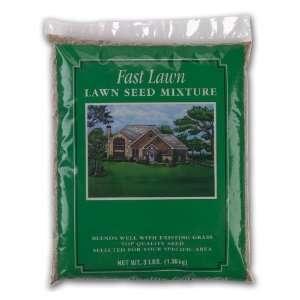 X SEED, INC 3 Lb Fast Lawn Lawn Seed Mixture Patio, Lawn