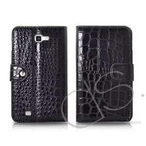 Krokodil Series Samsung Galaxy Note Leather Flip Case
