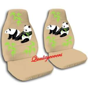 tan Panda bear car seat covers, for a 2003 Ford Focus Automotive