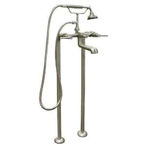 37 1/2 Contemporary Freestanding Tub Faucet w/o Shutoff