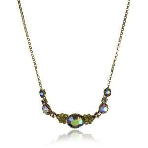 Tapestry Crystal Delicate Gold Tone Necklace on Chain Jewelry