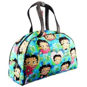 Licenced BETTY BOOP Large Handbag Tote travel bag Aqua