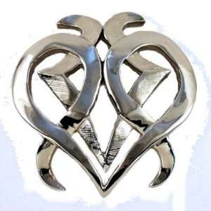 Tribal Heart Gas Cap Cover for stock Harley Davidson Everything Else