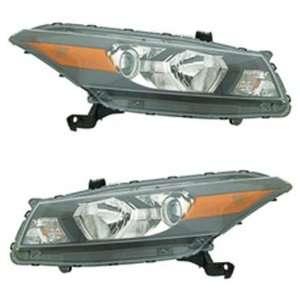 2008 2010 Honda Accord Coupe 2 Door Headlights Headlamps Head Lights