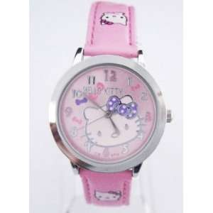 Hello Kittys KT71pk Quartz Movement Watch**Comes with a Hello Kitty