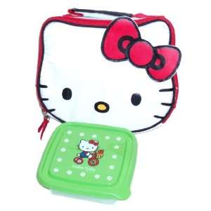 Hello Kitty Head Shaped Soft Insulated Single Compartment