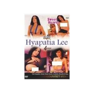 Hyapatia Lee 4 Pack DVD (Includes Club Hypatia, Classic Sweet Hearts