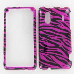 HTC EVO Design 4G Zebra on Hot Pink Hot Pink/Black