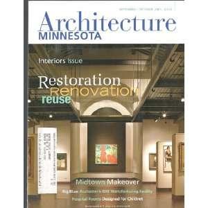 Architecture Minnesota magazine Sept./Oct. 2005 (Volume 31