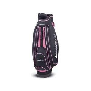 Adams Lady Cart Bag  Pink   Black