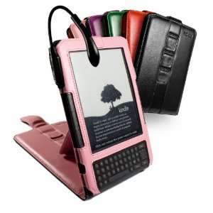 Leather case cover & stand for  Kindle Keyboard / Kindle 3