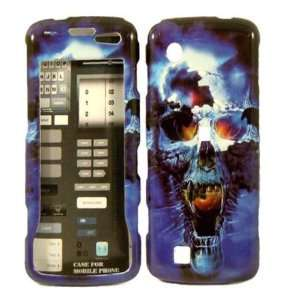 Blue Skull Hard Case Cover for LG Chocolate Touch VX8575