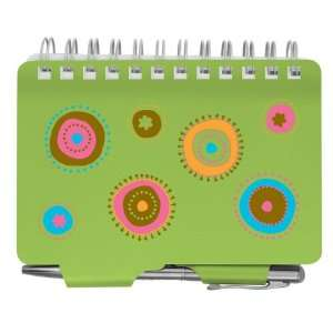 Metal Password Organizer Book Zoey Dots W/pen Office