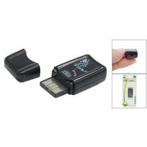 USB 2.0 Micro SD TF Memory Card Reader Writer Black Electronics
