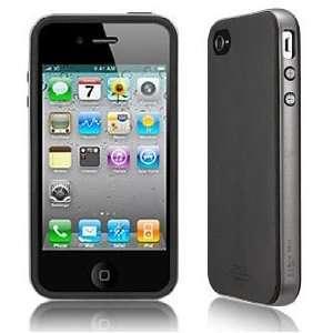 SGP Apple iPhone 4 Case Neo Hybrid Matte Series [Gun Metal