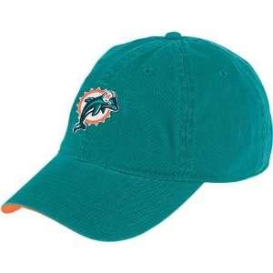 NFL Reebok Miami Dolphins Aqua Basic Logo Hat Sports