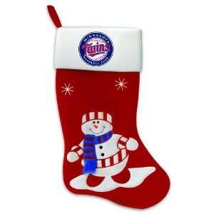 24 MLB Minnesota Twins Snowman Baseball Logo Christmas