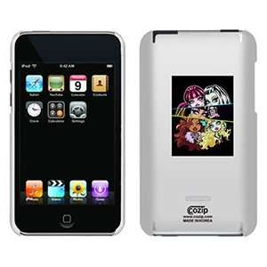 Monster High 5 Girls on iPod Touch 2G 3G CoZip Case