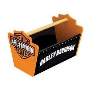 Harley Davidson Toy Caddy   Color Black and orange