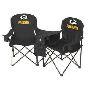 Green Bay Packers NFL Deluxe Folding Conversation Arm Chair