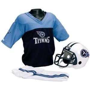 Titans Kids Small NFL Helmet & Uniform Set