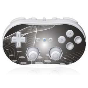 Design Skins for Nintendo Wii Classic Controller   Black