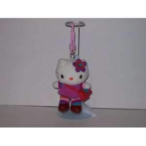 Hello Kitty Plush Keychain Clip On Toys & Games