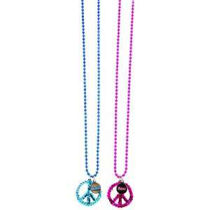 Molly n Me 2 Piece Best Friends Peace Sequin Necklace Toys & Games