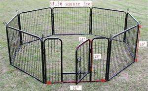 40 Heavy Duty Pet Playpen Dog Exercise Pen Cat Fence B