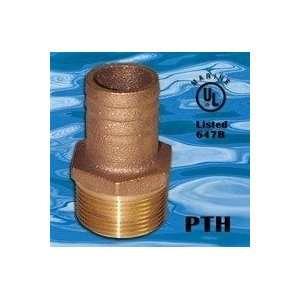 Groco Bronze Pipe to Hose Adapters 2 Elbow #GRO PTHC2000