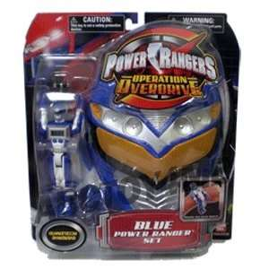 Power Rangers Operation Overdrive Power Ranger Set   Blue