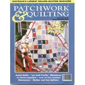 Australian Patchwork & Quilting Magazine (Vol 3, No. 6) Books