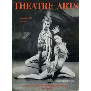 Theatre Arts Magazine September 1957 Royal Ballet