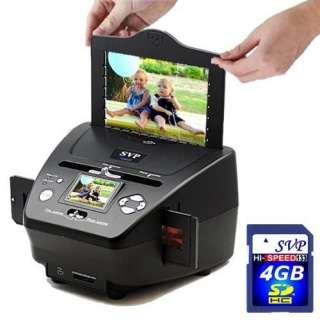 ) Digital Film/Slide/Photo Scanner w/ 2.4 Build in LCD Electronics
