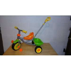 Full Metal Frame Childrens Trike, Two Tone Color   Green