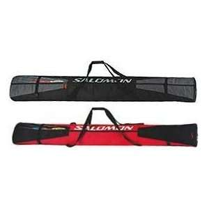 07 Salomon 2 Pair Ski Bag 180cm Red: Sports & Outdoors