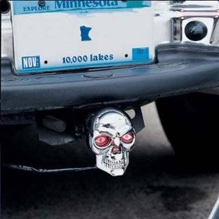 Bully CR 018 LED Skull Hitch Cover Automotive