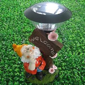 Solar Lights Outdoor, Solar Welcome Lamp. Solar Panel