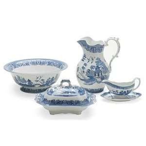 Williams Sonoma Home Spode Blue Willow Large Pitcher, Each
