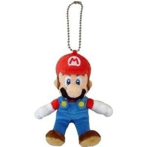 Nintendo Super Mario 6 Plush Keychain Toys & Games