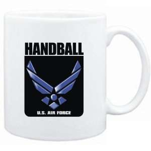 Mug White  Handball   U.S. AIR FORCE  Sports Sports