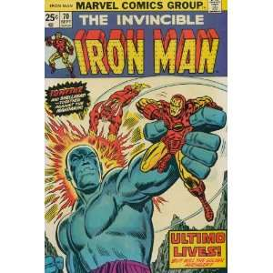 Iron Man (1st Series) #70: Mike Friedrich, George Tuska