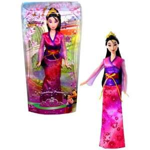 Doll   Mulan with Chinese Traditional Dress and Tiara (N5053): Toys