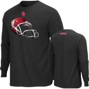 Oklahoma Sooners Black Eat Turf Long Sleeve T Shirt