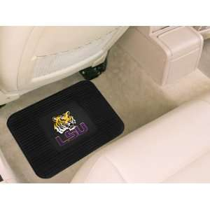 Tigers NCAA Heavy Duty Vinyl Car Floor Mat (1 Rear)