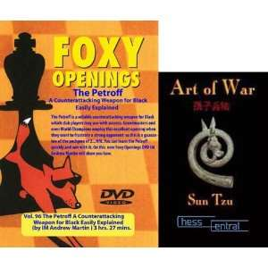 com Foxy Chess Openings The Petroff DVD & ChessCentrals Art of War