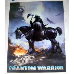 Armored Corps, Fort Hood Texas PHANTOM WARRIOR Poster: Everything Else